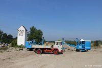 historische Baustelle Huttenheim